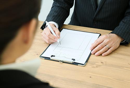 必要書類の作成、履歴書の作成等のフォロー体制が万全